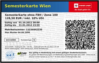 Wiener Linien Eosuptrade En